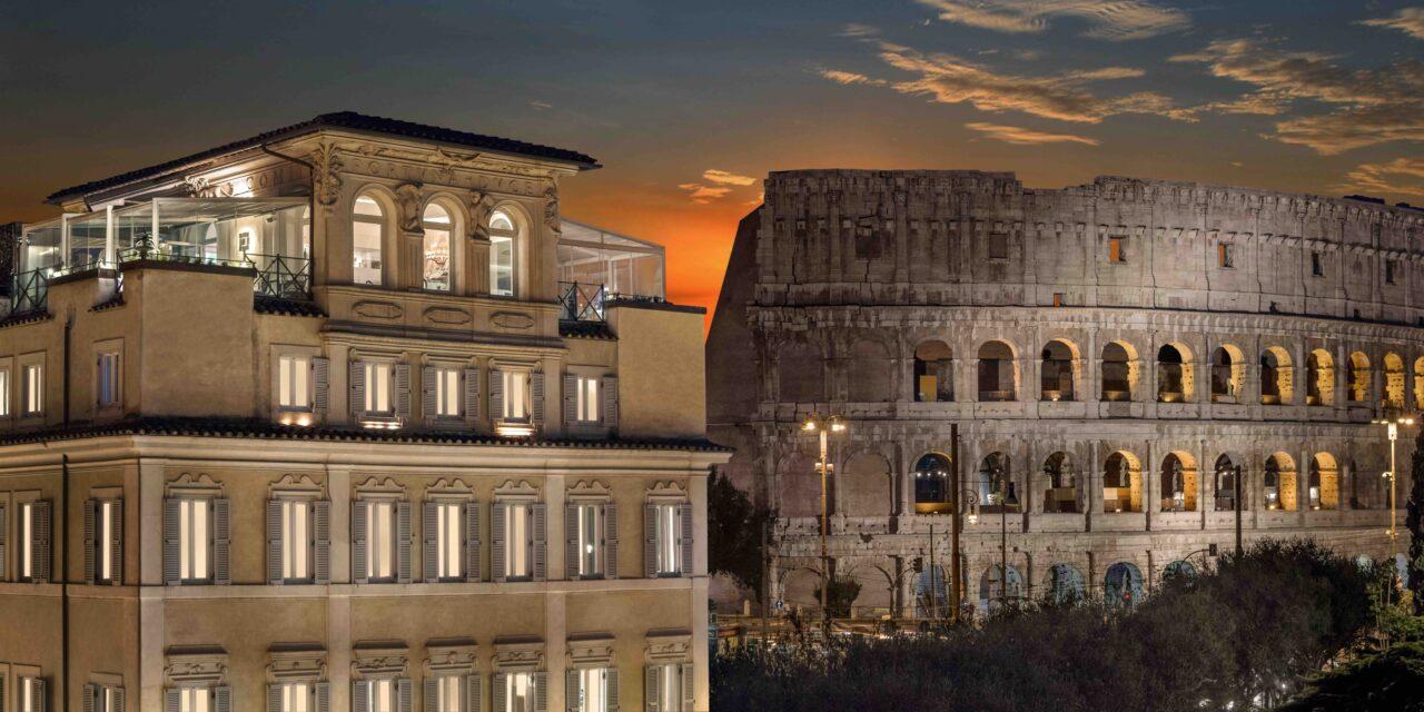 Notte da sogno sotto il Colosseo a Palazzo Manfredi